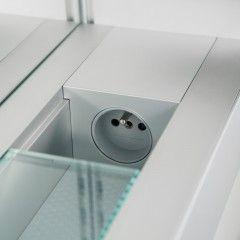 GROHE Tectron Skate infračervená elektronika pre pisoár, montážny set, chróm, 37321001